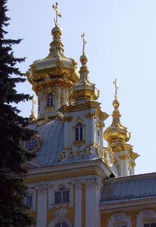 St. Petersburg, Russia: The Palace at Peterhoff