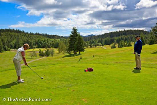 The Artists Point Bed, Breakfast and Phototours: Golf course about 20 min away
