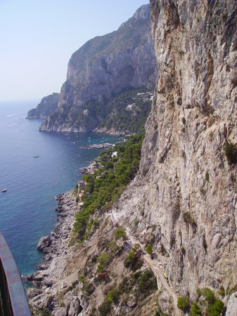 Island of Capri, Italy: Via Krupp from Augustus's Garden