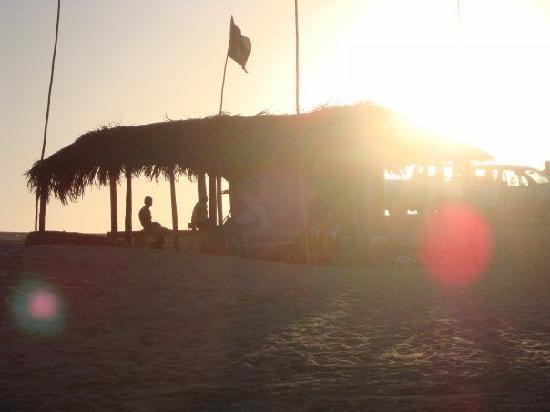 The Latin Quarter: Taiba Lagoon @ sunset