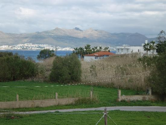 Mare Blue Apartments : View of Turkey - out our bedroom window!