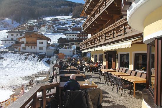 Alpengasthof Grüner: nice terrace
