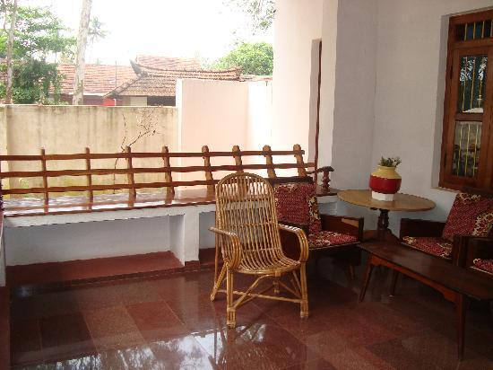 Arunima Heritage Home: porch
