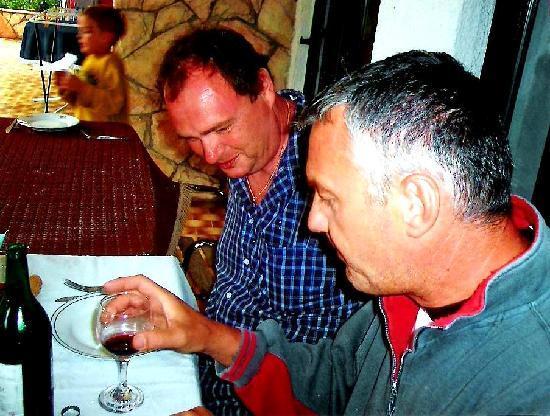 Pansion Victoria: mein Freund Urke und ich