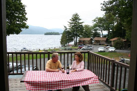 Candlelight Cottages LLC on Lake George: Beautiful views for our lakeshore cottages