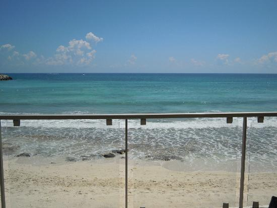 Now Jade Riviera Cancun: View From our room # 7104