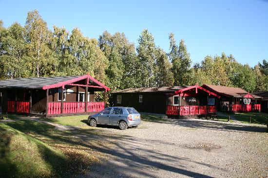 High Range Self-catering Chalets: Chalets in the summer