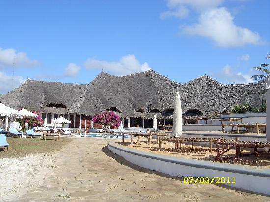 Garoda Resort : vista corpo centrale
