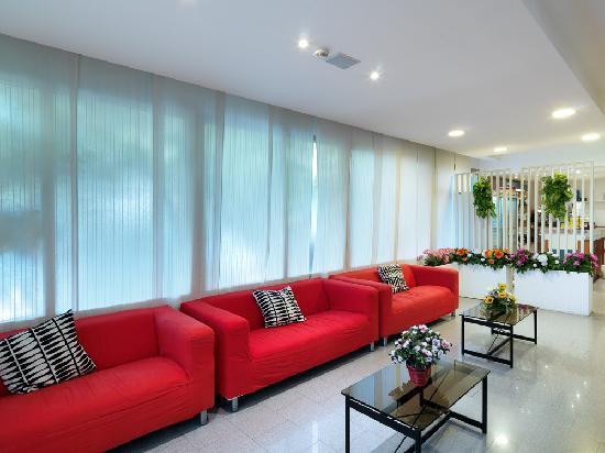 Hotel Nelson: sala tv