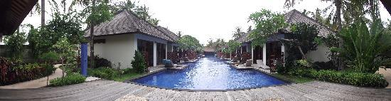 Luce d'Alma Resort & Spa: Panoramic picture of hotel