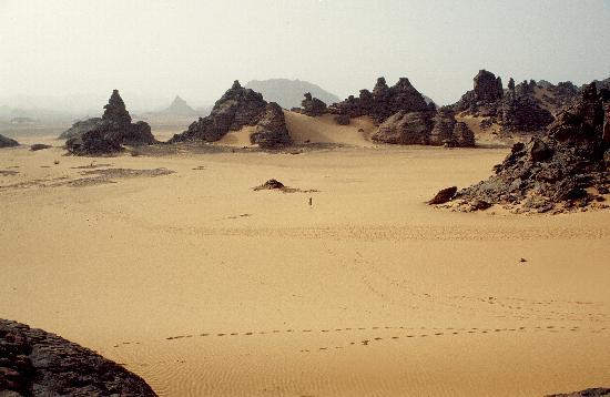 Akakus Desert : deserto libico