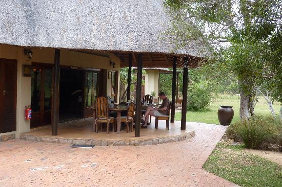 Monwana Game Lodge: main building