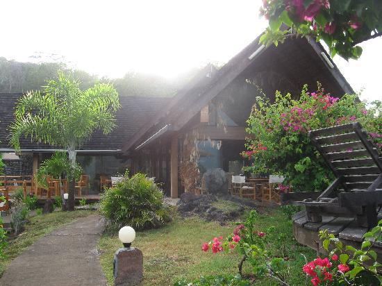 Hanakee Hiva Oa Pearl Lodge : le restaurant