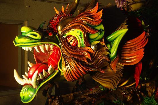 Sciacca, Italia: Dans le défilé...
