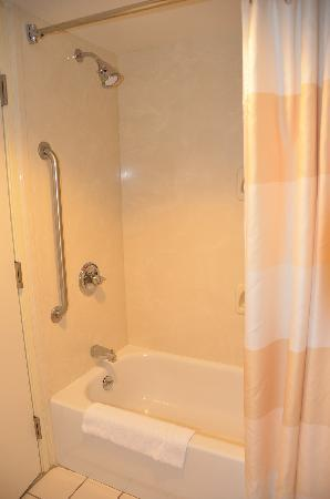 Fairfield Inn & Suites Jackson Airport: Shower