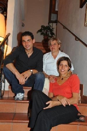 Poppi, Italie : Licio, Roberta e Carolina Cipriani