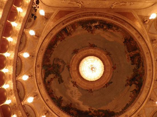 Teatro dell'Opera di Roma: cupula del teatro