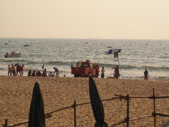 Chalston Beach Resort: Right on the beach