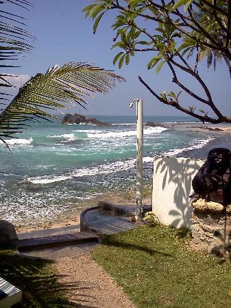 Blue Sky Beach Resort: Vista dal ristorante bar