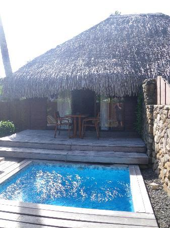 Moorea Pearl Resort & Spa: Private pool