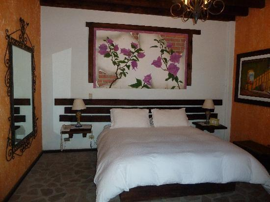 Posada de las Flores Loreto: Bed