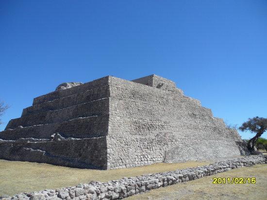 Cañada de La Virgen: The pyramid