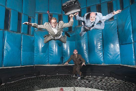 Vegas Indoor Skydiving : Hard Day at Work