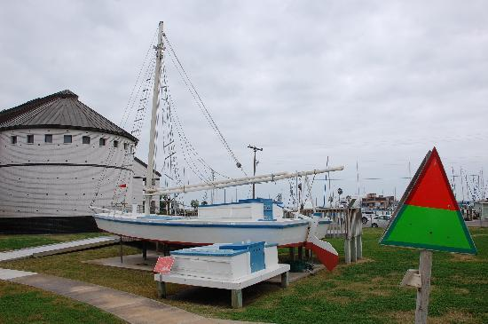 Rockport, TX: Part of the outside display