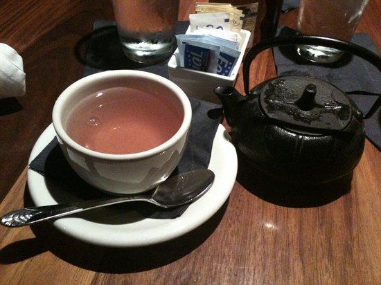 Palace Cafe: citrus tea
