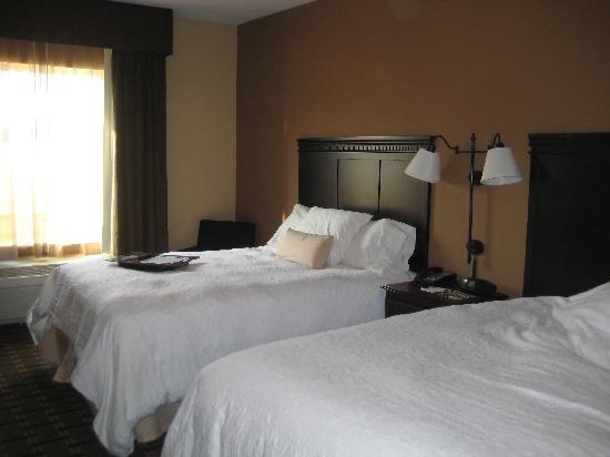 Hampton Inn & Suites Palestine : Queen Double Bed Room