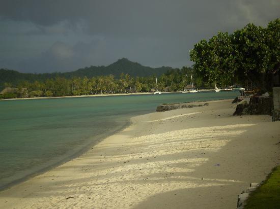 Hotel Matira : plage Bora-Bora