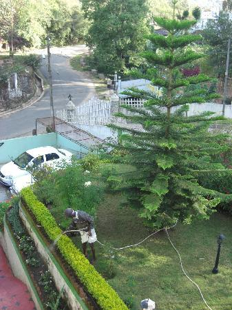 Pavithram Home Stay: View from bedroom window