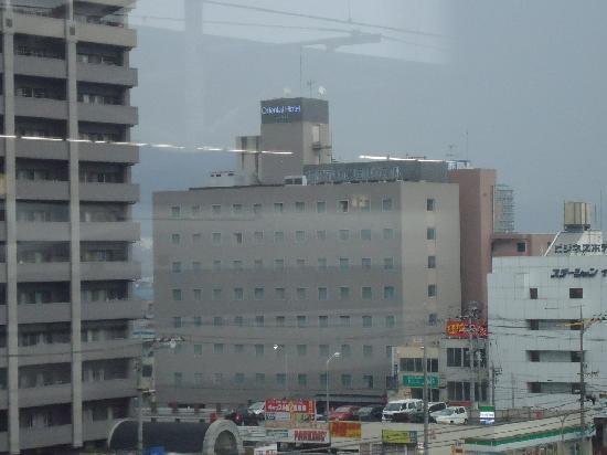 Fukuyama Oriental Hotel: Oriental hotel - seen from teh railway station. it is so close. good restaurants down below