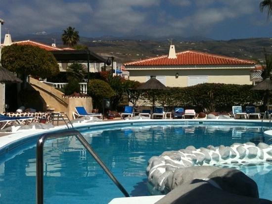 Callao Salvaje, Spanien: pool facing towards Tiede