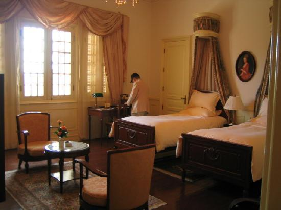 ソフィテル ダラット パレス, 2007年1月に宿泊した3階のデラックスルーム211号室