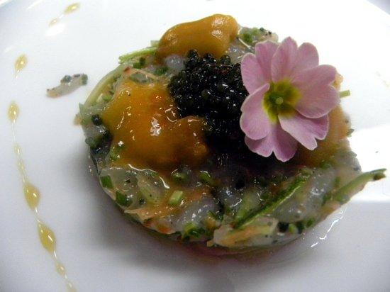 Gattopardo Ristorante Di Mare: Uni & Caviar on Sicilian Prawns