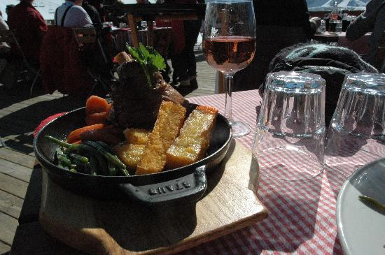 Chalet Hotel Berangere : lunch on the mountain..again!