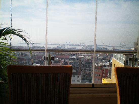 Hotel Venera: vue du restaurant panoramique