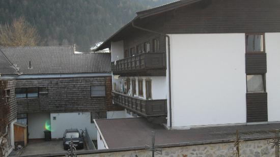 Pension Edinger: back of the hotel
