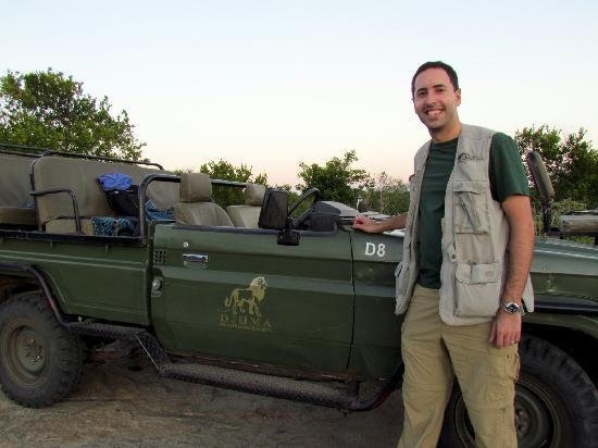 Vuyatela Lodge & Galago Camp: With the land cruiser