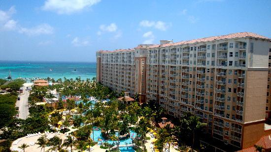 Marriott's Aruba Surf Club: balcony view