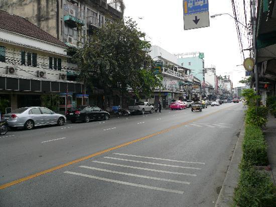 Penpark Place: Le boulevard principal