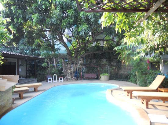 Riverside House: pool