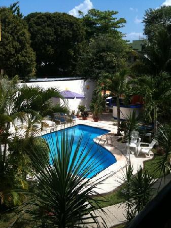 El Acuario Hotel: vue de notre chambre !