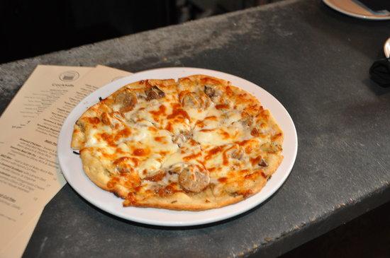 Small Plates: italian sausage & mushroom combo
