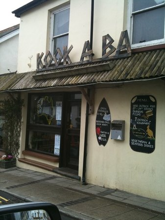 Saundersfoot, UK: front of premises