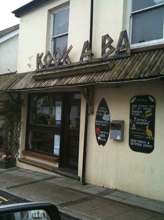 Kookaba Restaurant: front of premises