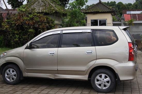 Putu Bali Driver Private Day Tour: The Vehicle