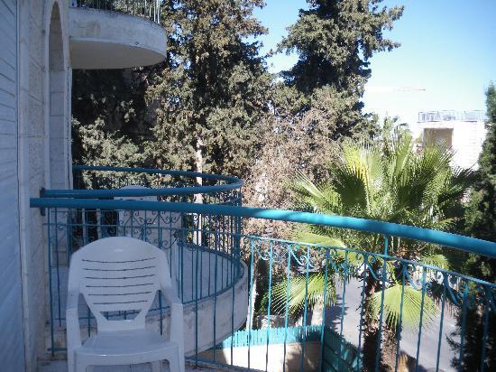 Eden Jerusalem Hotel: quartier très calme