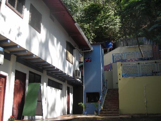 Manta Raya Hotel: street view of first level